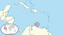 Cartografia della località 12°11' N 68°15'W