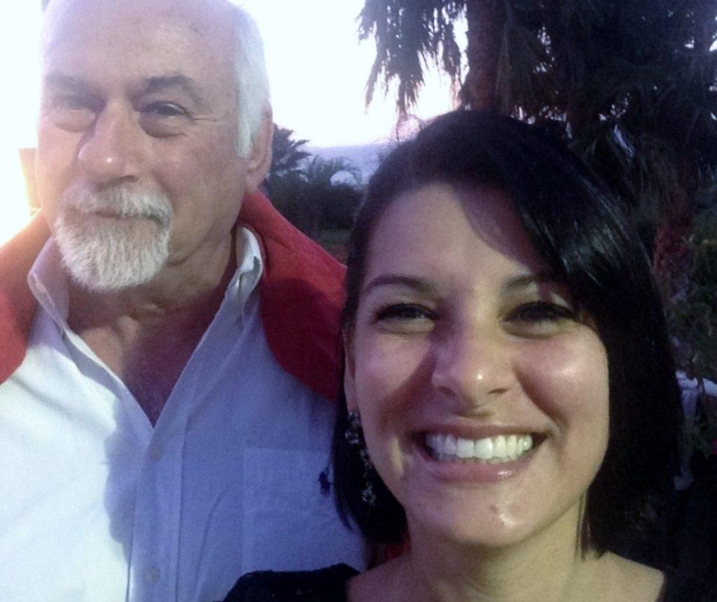 L'autore dell'articolo Col. Petrantoni e la dott.ssa Kanaan